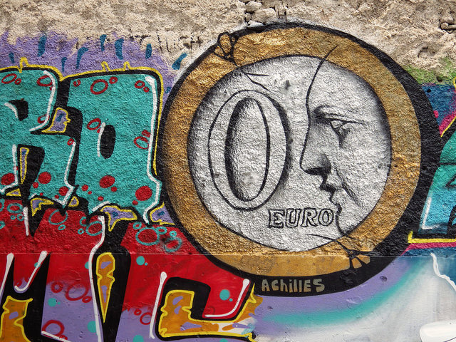 Street Art - Euro